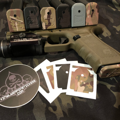 Multicam Glock Base Plate Covers Now Available!  Get yours today!