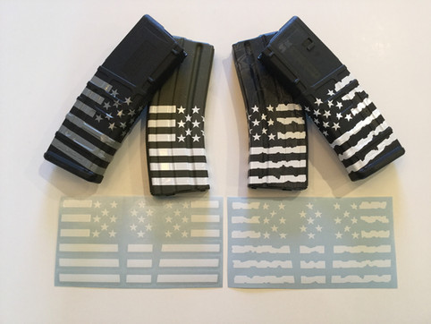 New US FLAG Magazine Wrap Stickers!