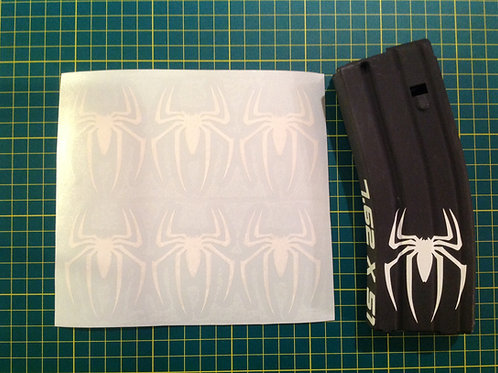 Spider Sticker 6 Pack