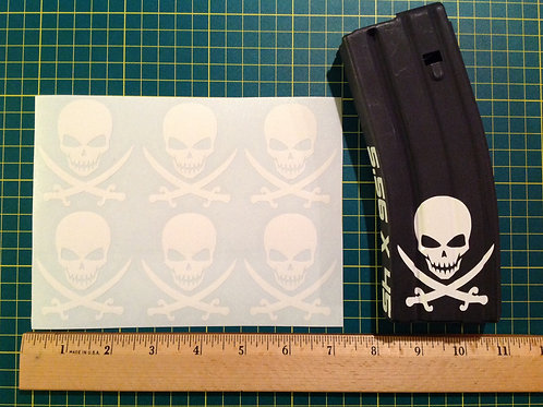 Modern Calico Jack Sticker 6 Pack
