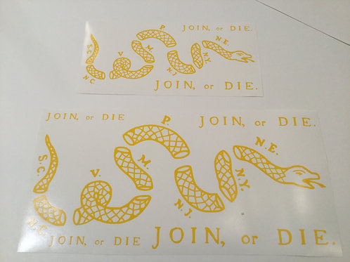 Join or Die Stencil Pack