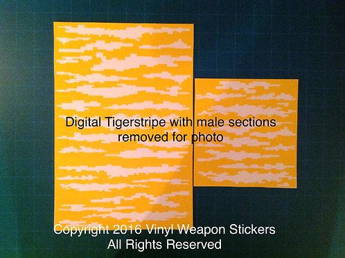 Digital Tigerstripe Stencil Pack