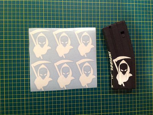 Grim Reaper Sticker 6 Pack