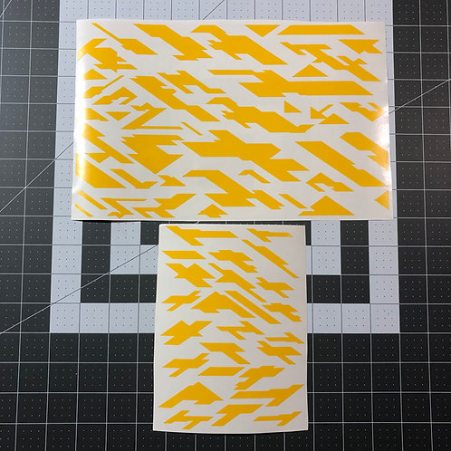 Geometric Vector Camo Stencil Pack