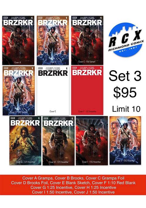 BRZRKR #1 Set 3