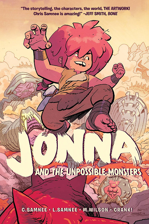 Jonna and the Unpossible Monsters Vol. 1