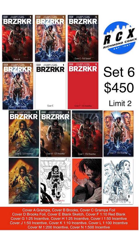 BRZRKR #1 Set 6