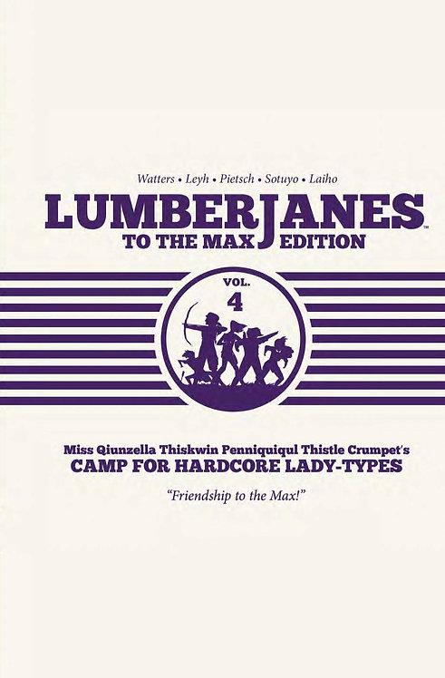 Lumberjanes to the Max HC Vol. 4