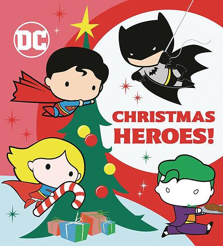 Christmas Heroes! Board Book
