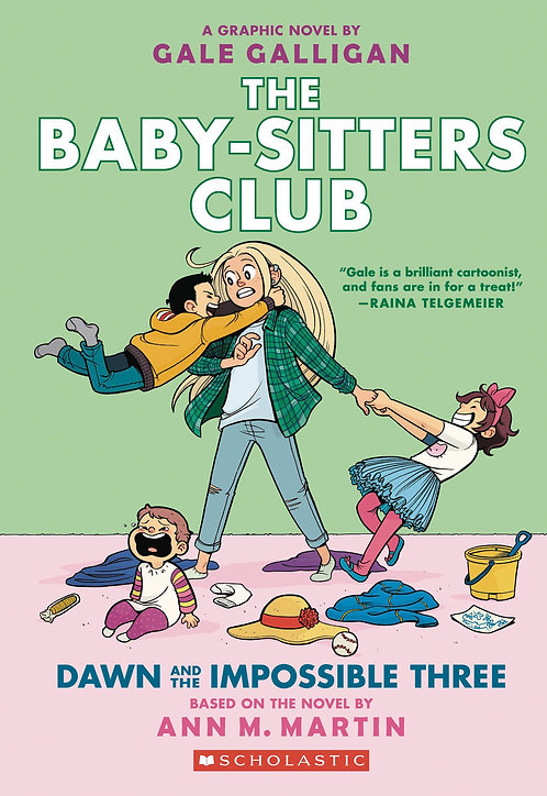 The Baby-Sitters Club #5 Dawn and the Impossible Three