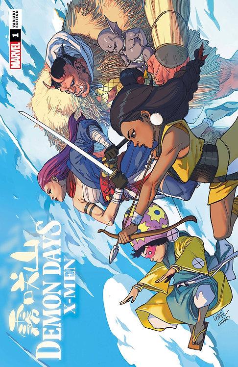 Demon Days X-Men #1 Yu Variant