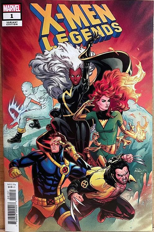 X-Men Legends #1 Dauterman 1:25 variant
