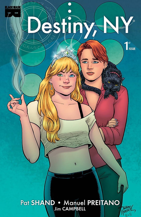 Destiny NY #1 Cover C Moore 1:15  Variant