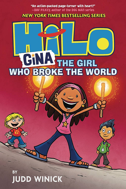 Hilo #7 Gina, The Girl Who Broke the World