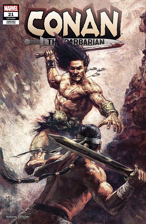 Conan #21 Mastrazzo 1:25 Variant