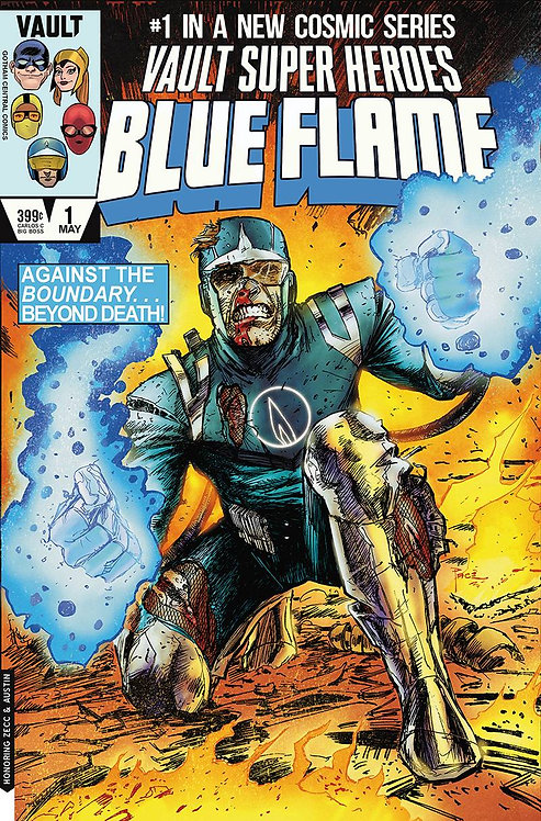 Blue Flame #1 Pace 1:15 Variant