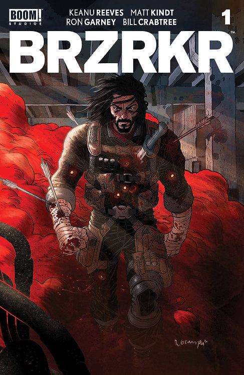 BRZRKR #1 Cover A Grampa