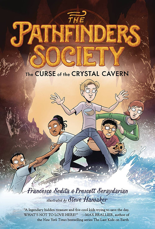 Pathfinder's Society #2 the Curse of the Crystal Cavern