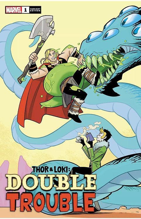 Thor & Loki: Double Trouble #1 Bustos 1:25 variant