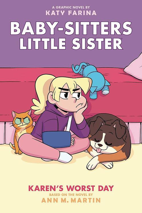 Baby-Sitters Little Sister #3 Karen's Worst Day