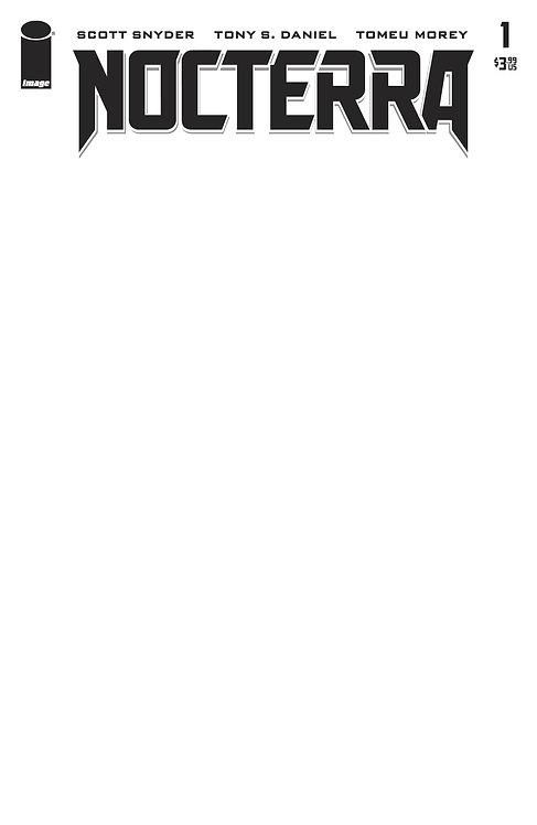 Nocterra #1 Cover E Blank Sketch