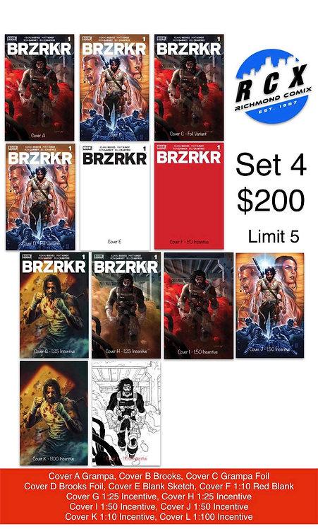 BRZRKR #1 Set 4