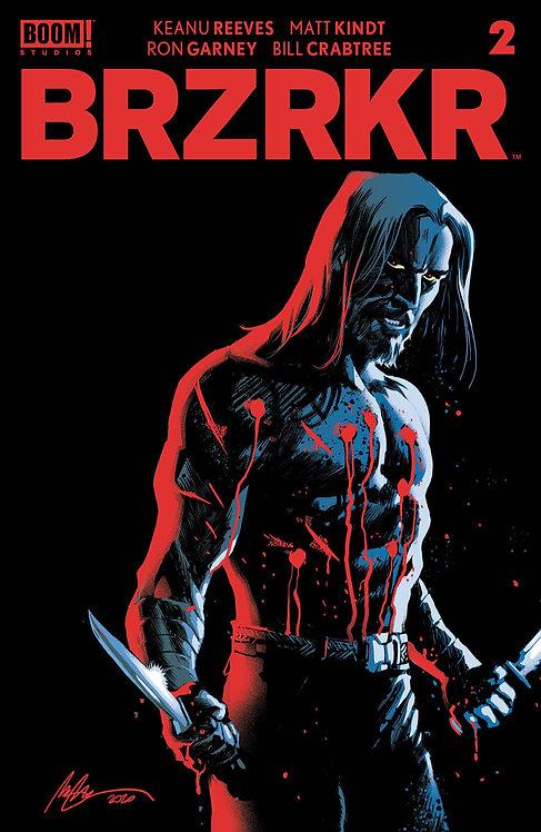 BRZRKR #2 Cover D Alburquerque Foil