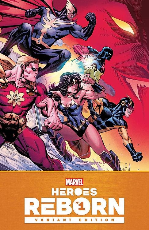 Heroes Reborn #1 McGuinness 1:25 Variant