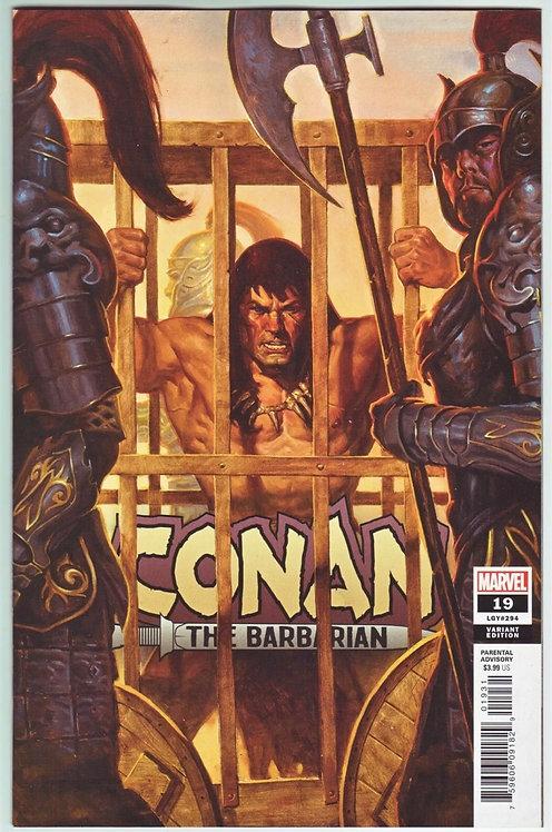 Conan The Barbarian #19 Gist 1:25 variant