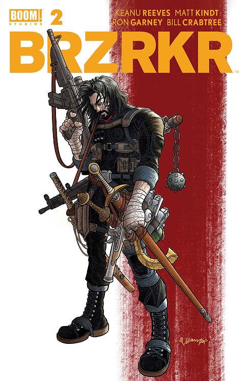 BRZRKR #2 Cover A Grampa