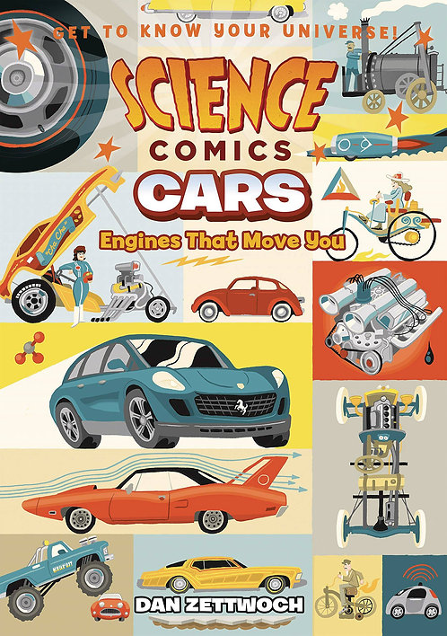 Science Comics: Cars