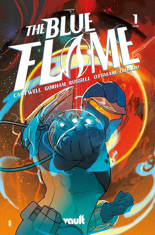 Blue Flame #1 Ward Foil 1:75 Variant