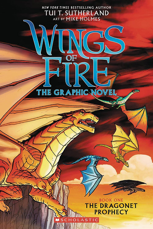 Wings of Fire #1 The Dragonet Prophecy