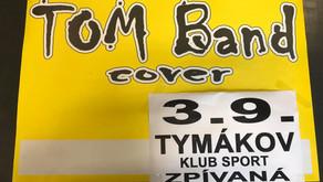 TOM Band na házenkářském hřišti v Tymákově 3.9.2021