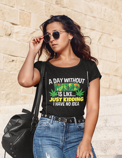 mockup-of-a-female-tourist-with-sunglasses-wearing-a-heathered-t-shirt-45351-r-el2