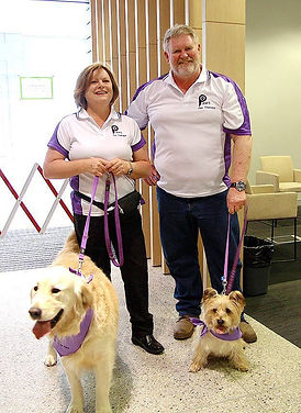 Paws Pet Therapy voluteer team
