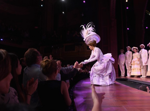 Bernadette's first Bow as Dolly Levi!