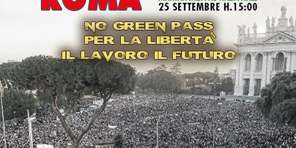 ROMA: MANIFESTAZIONE NAZIONALE