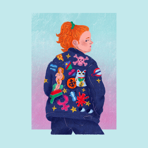 Self Portrait in Denim (2019)