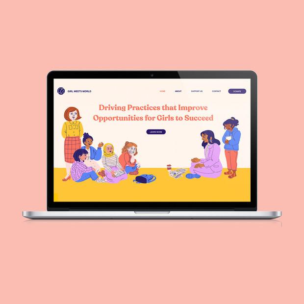 Nonprofit Web Design (2020)