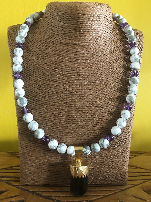 Gold Capsulated... Rare!! Himalayan Purple Siberite Tourmaline!