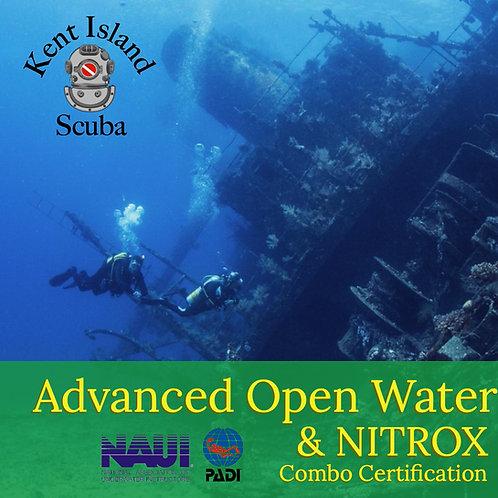 Advanced Open Water & NITROX Combo