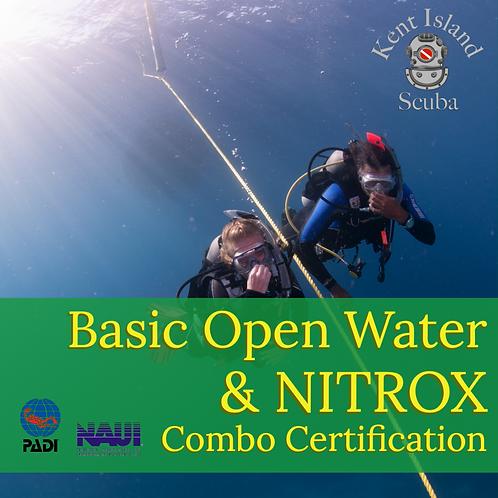 Basic Open Water & NITROX Combo