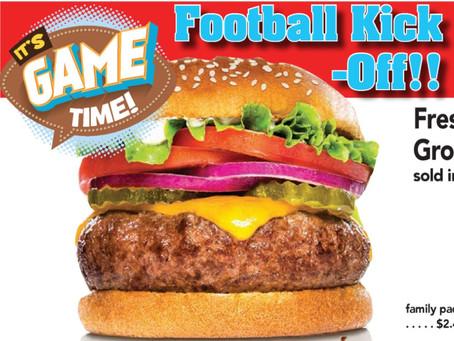 Football Kick-Off • 09/23-09/29