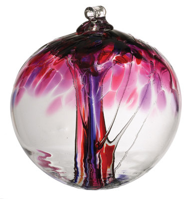 """Love""- 2"" Tree of Enchantment Glass Ball/More coming in soon!"