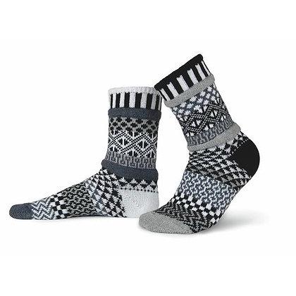 """""""Solmate"""" socks, Size Med Midnight"""