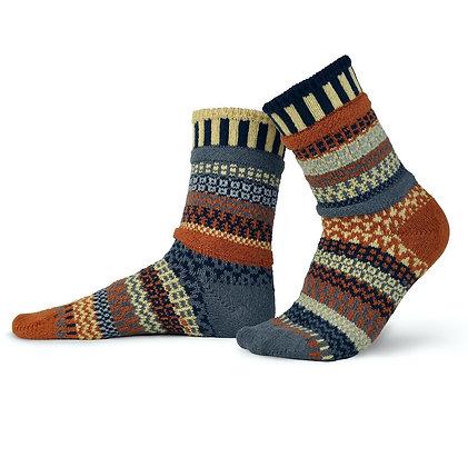 """""""Solmate"""" socks, Size Med Nutmeg"""