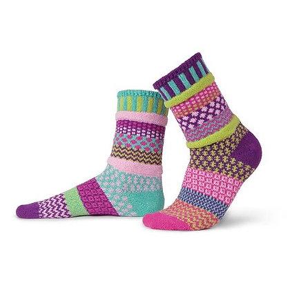 """""""Solmate"""" socks, Size Med Dahlia"""