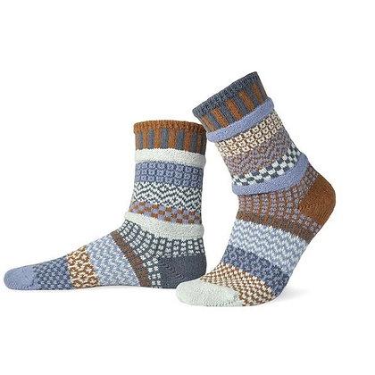 """Solmate"" socks, Size Med Foxtail"