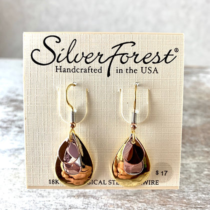 """Silver Forest"" Earrings"